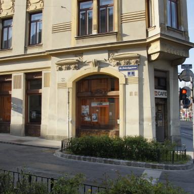 Das Stadtbahn von außen, gegenüber S45 Station Gersthof